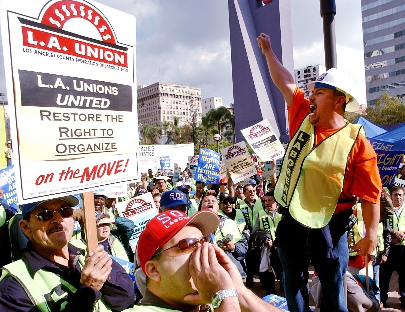 The Plan to Blame Unions For Everything