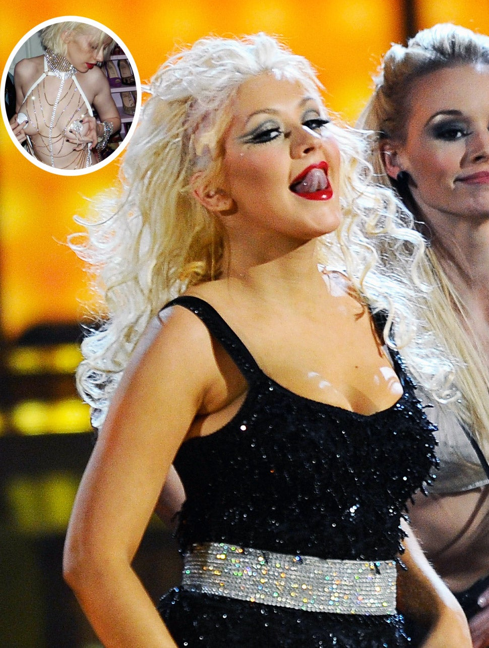 Nude pictures of christina aguilera photo 375