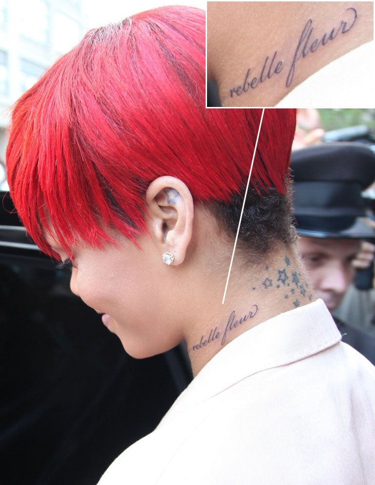 Rihanna's New Tattoo Has a Mistake In It