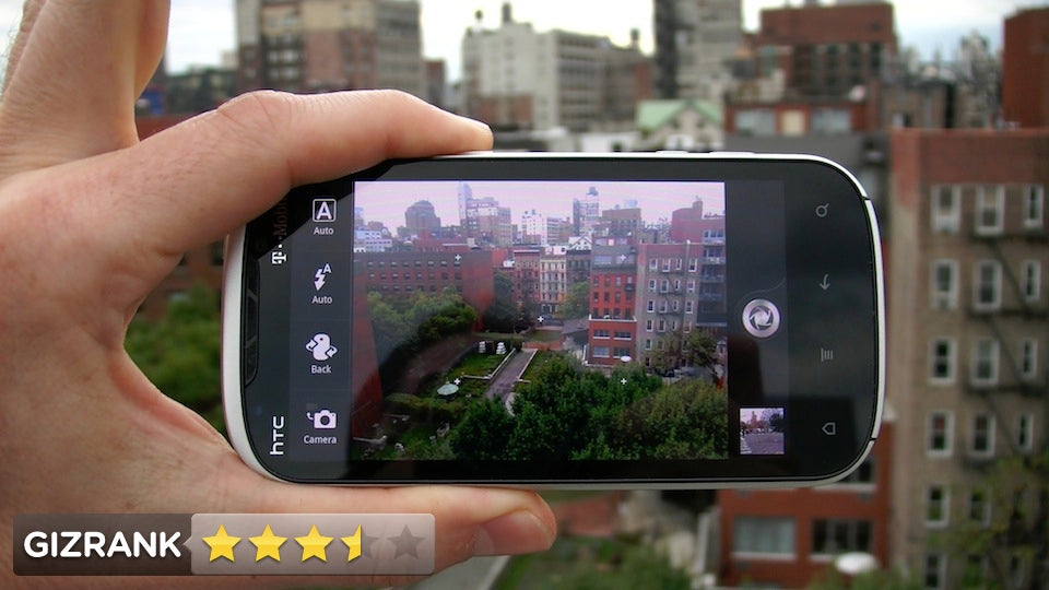 HTC Amaze 4G Review: A Rock Solid Shooter
