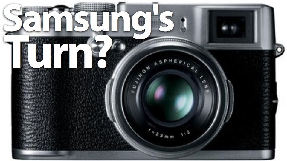 Does Samsung Have a Beautiful Retro Powerhouse Camera up Its Sleeve?