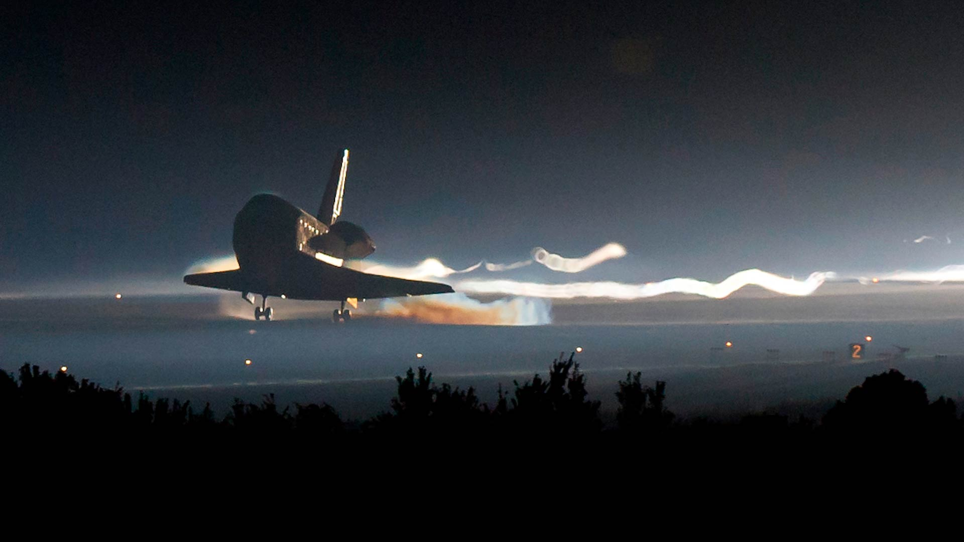 The Definitive Goodbye Space Shuttle Desktop Wallpaper