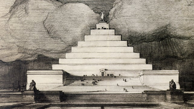 In an alternate reality, this pyramid is the Lincoln Memorial