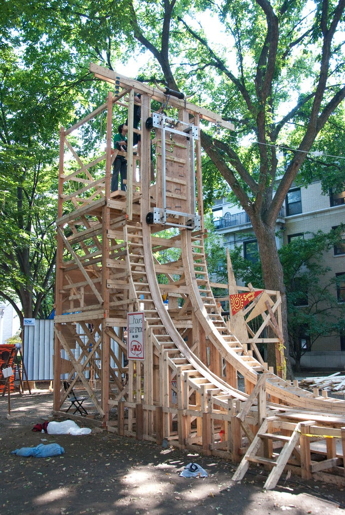 Would You Ride This Crazy Student-Made Roller Coaster?