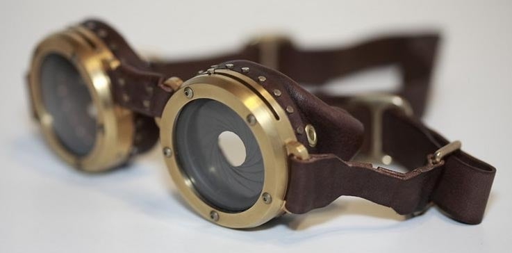 These Steampunk Goggles Really Are Too Nice