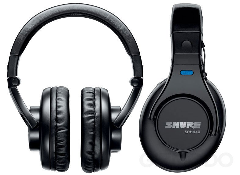 Shure SRH Over-the-Ear Headphones for People Who Don't Like Brain Tickling