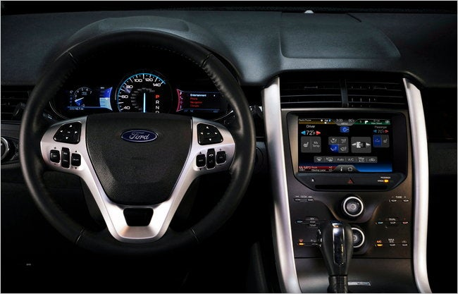 Ford Redesigns Car Dashboards To Be More Like Cellphones