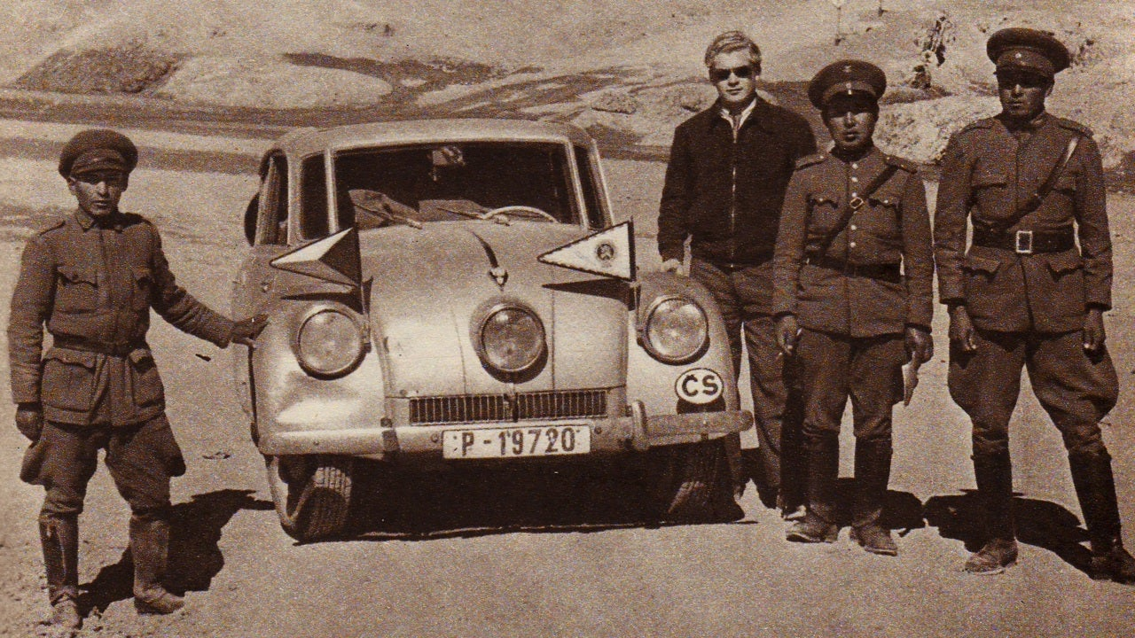 The two Czechs who drove across the world in a Tatra