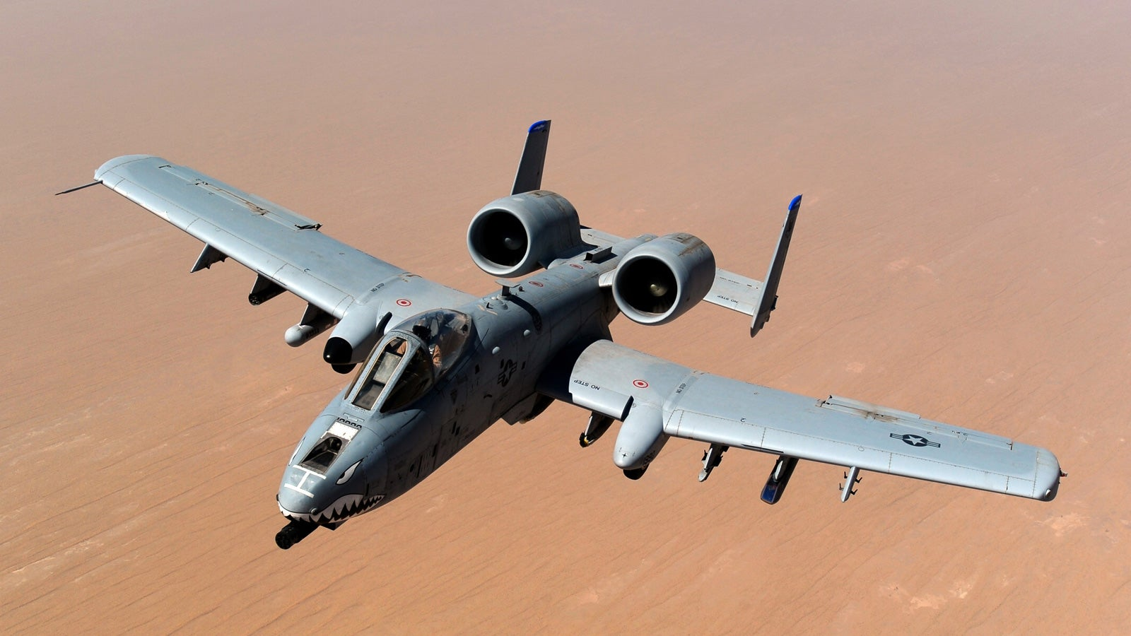 The A-10 Thunderbolt is scary beautiful
