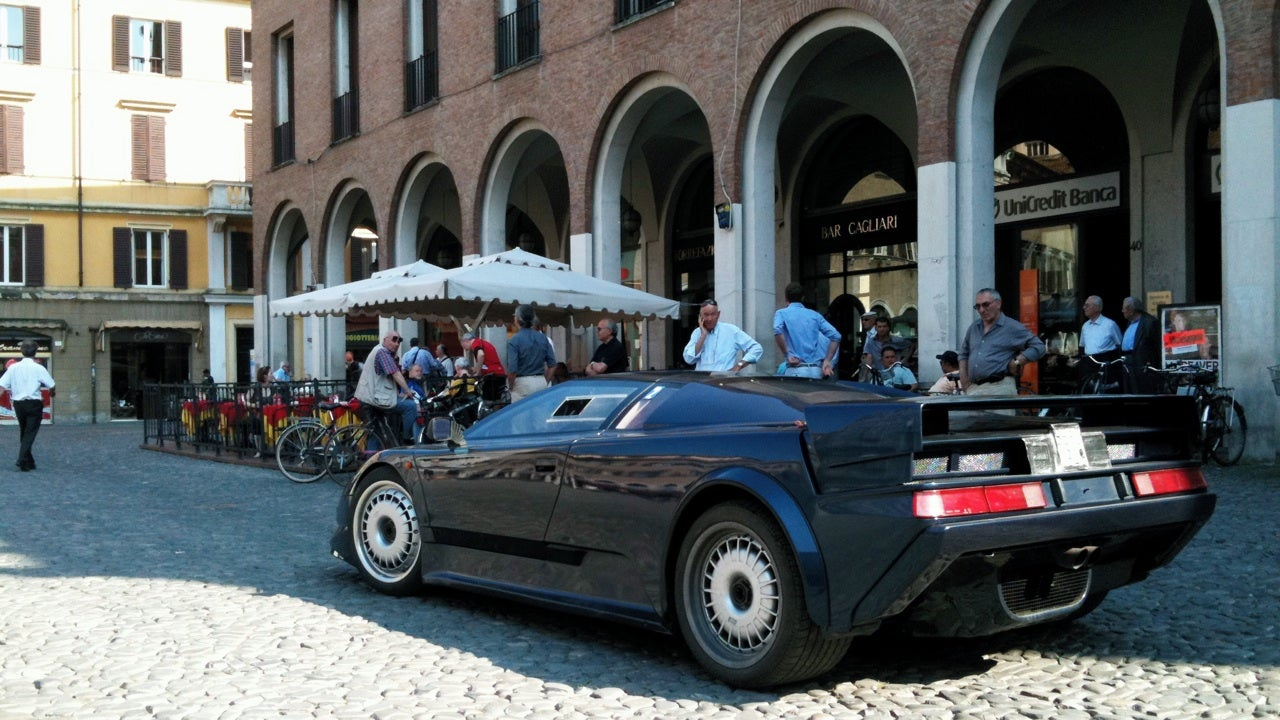 How I found the first Bugatti EB110 prototype on an Italian street