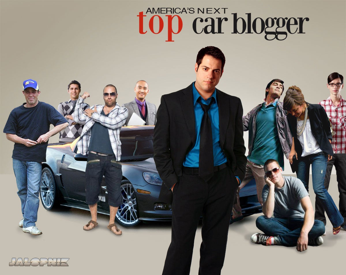 Who Wants To Be America's Next Top Car Blogger?