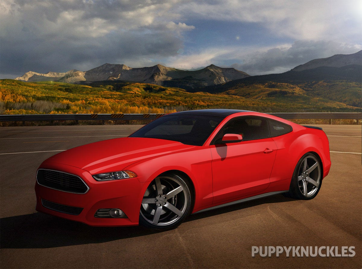 2015 Mustang Rendering Html Autos Post