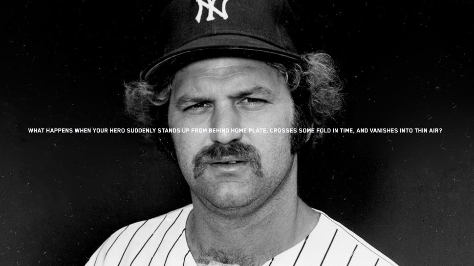 Thurman Munson In Sun And Shade