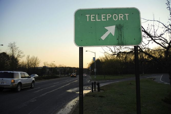 Teleportation just got easier – but not for you, unfortunately
