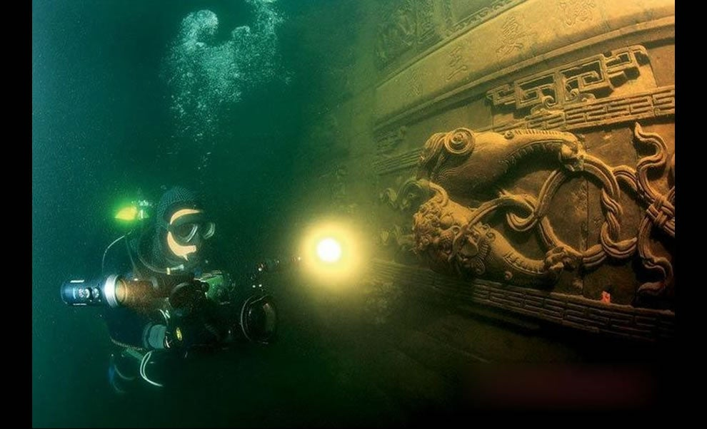 Once-Majestic Cities That Sank Beneath The Ocean