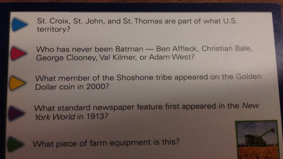 Well This Batman Trivia Question Won't Be Relevant For Long