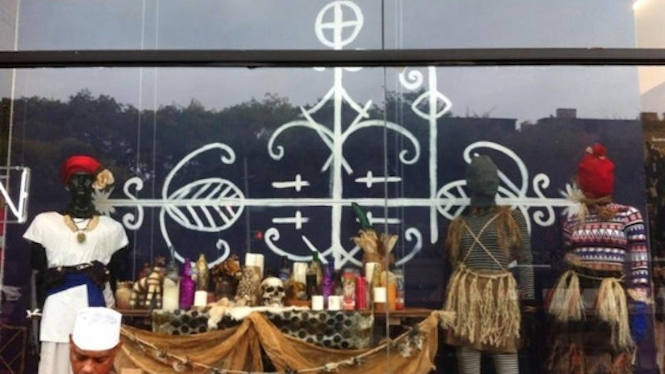 American Apparel Under Fire for 'Spooky' Voodoo-Themed Window Display