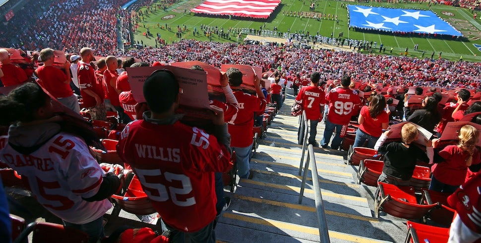 49ers Send Letter Reminding Fans When To Cheer