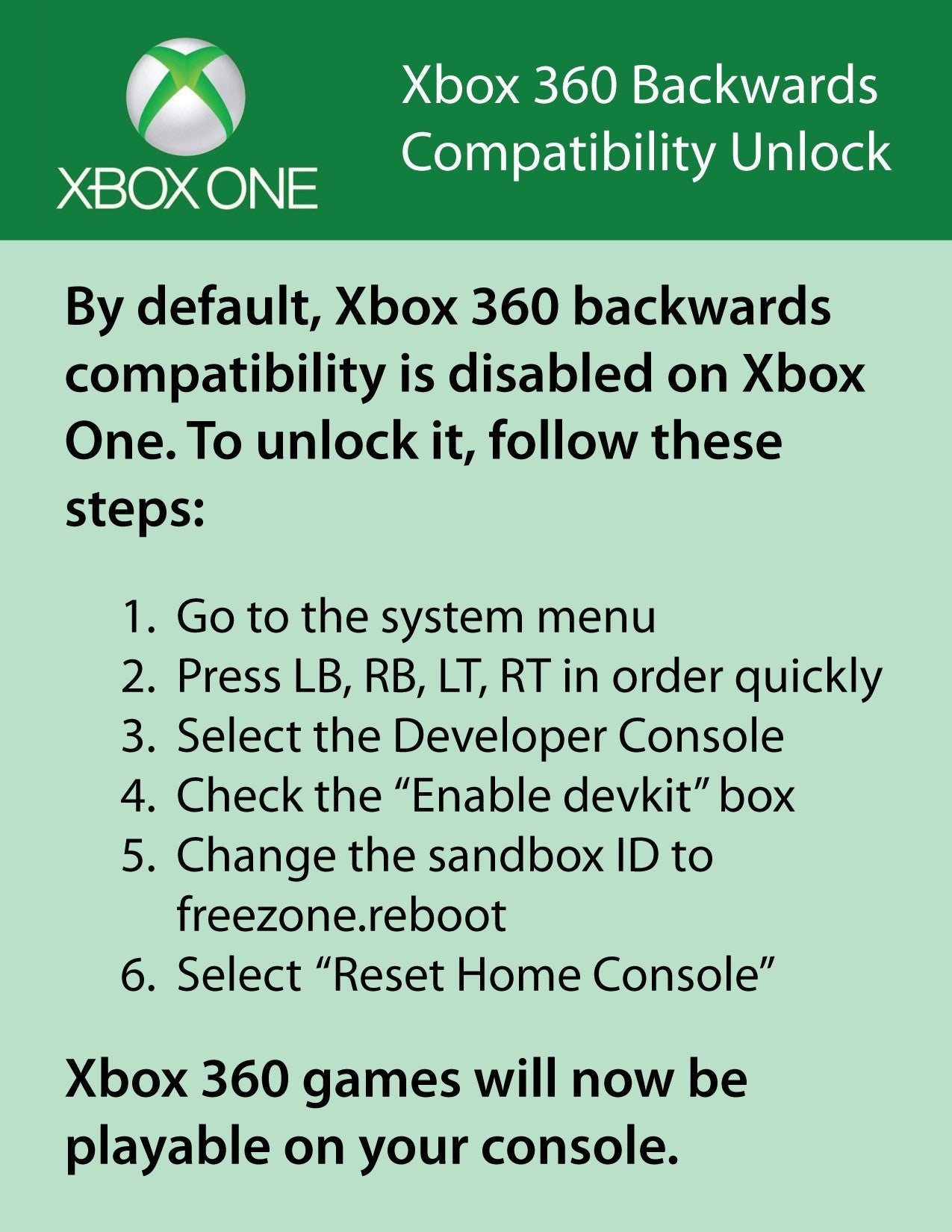 Don't Fall For This Xbox One Backwards Compatibility Prank