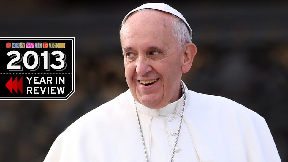 Gawker Heroes: Pope Francis, Our Blessed Hero of Reduced Expectations
