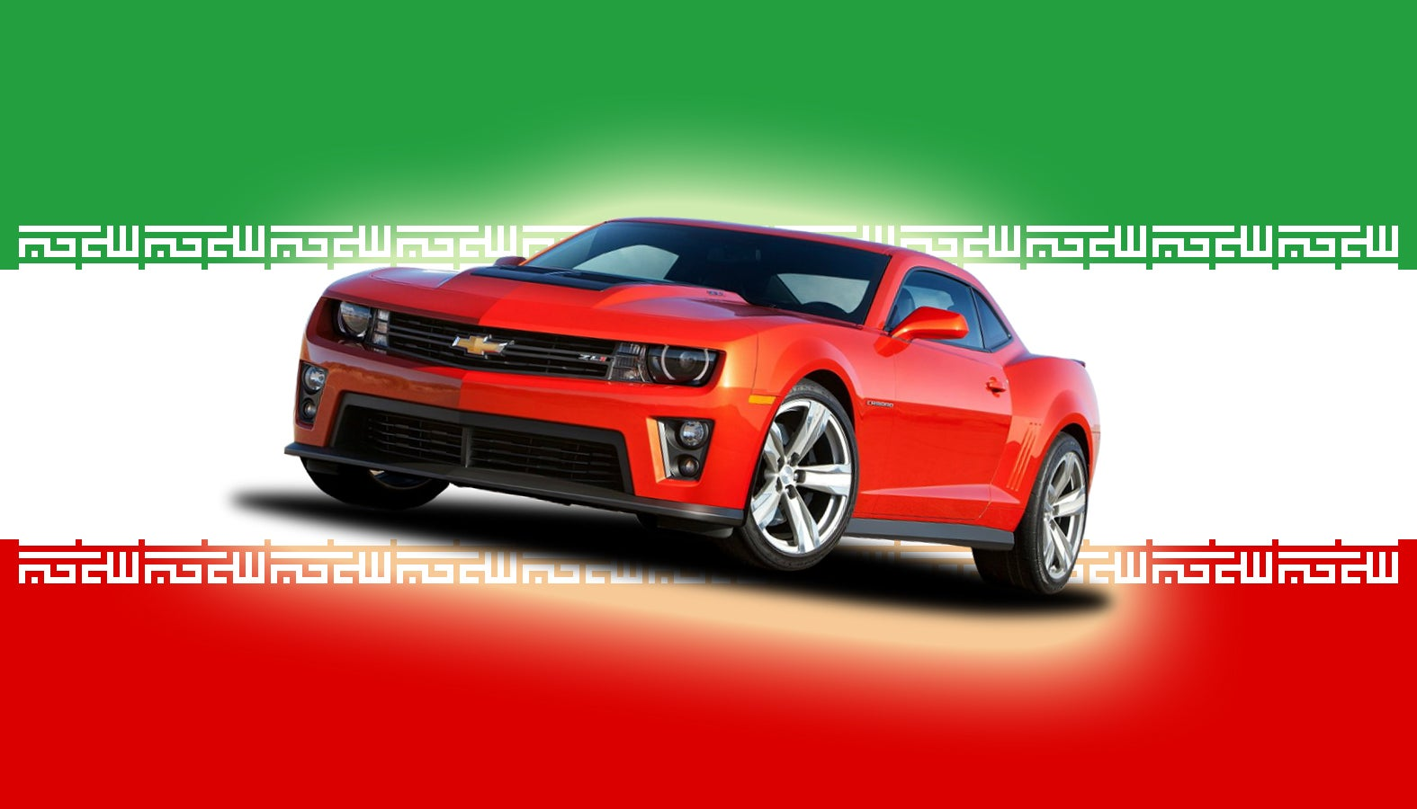 Death To Tires! Iranians Are Going Crazy For The Chevy Camaro
