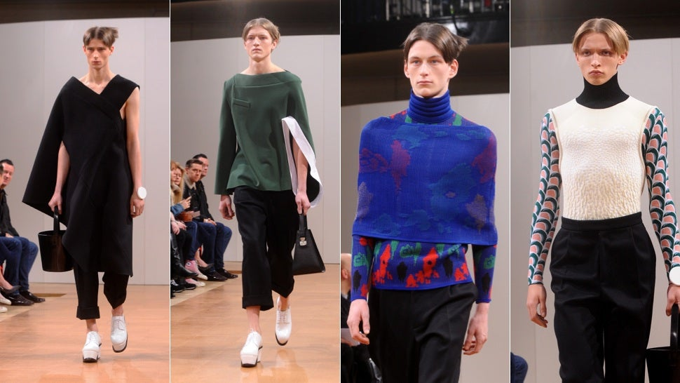 London Fashion Week: The Future of Menswear Is Feminine