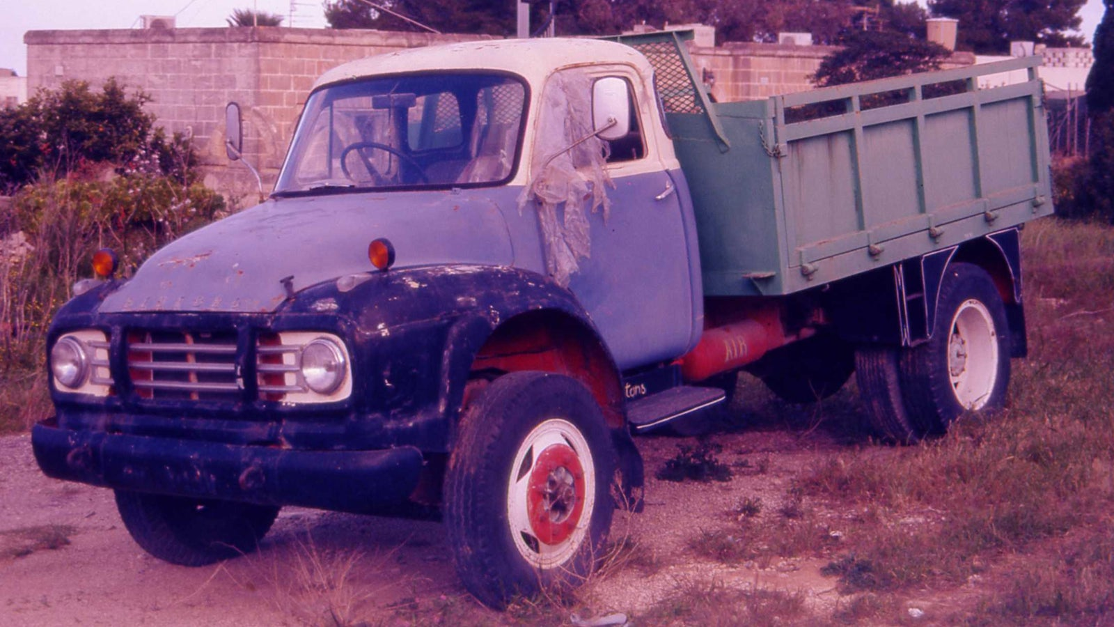 A Classic Cargo Truck From 'British Chevrolet'