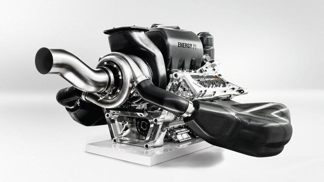 How Formula One's Amazing New Hybrid Turbo Engine Works