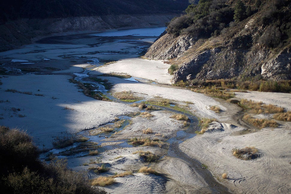 Flooded Ghost Towns Re-Emerge as Water Levels Drop Across the West