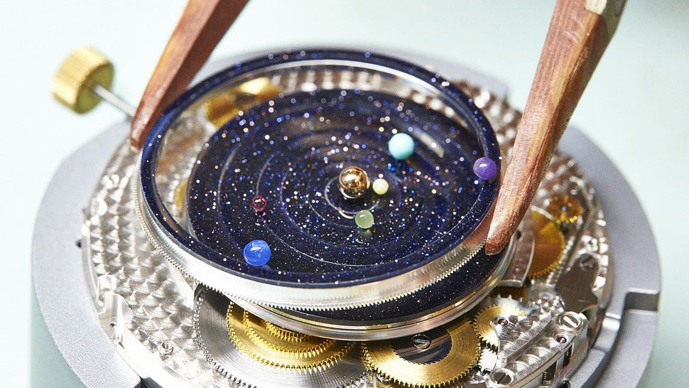 A Watch That Puts an Entire Planetarium on Your Wrist