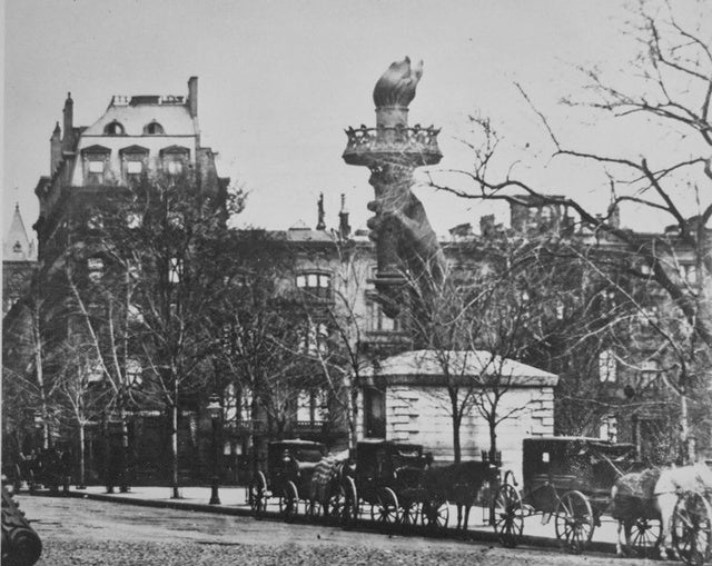 Why the Statue of Liberty's Arm Lived In a NYC Park For Six Years