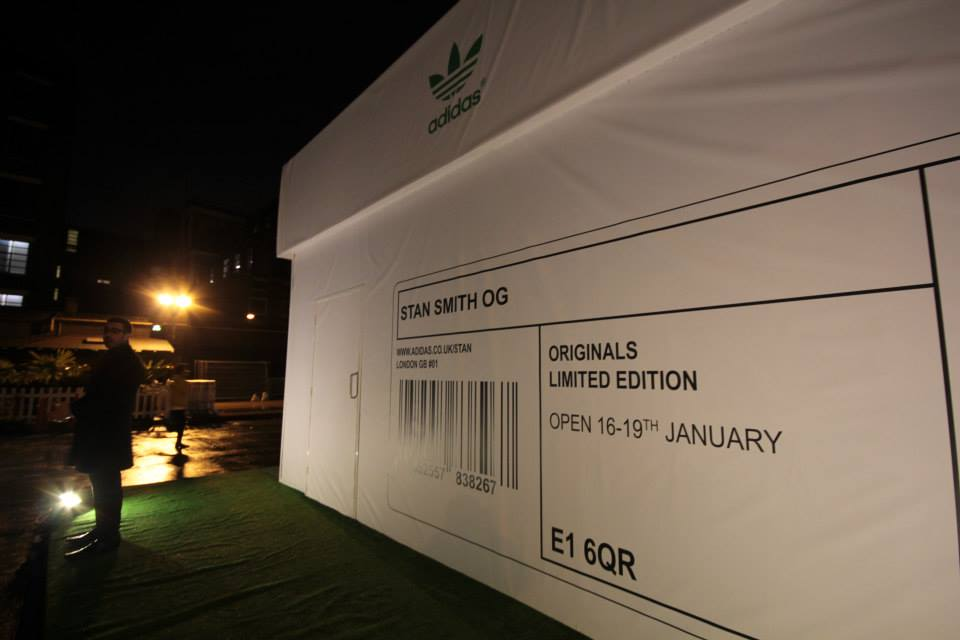 London's Giant Shoebox Is Actually An Adidas Pop-Up Shop