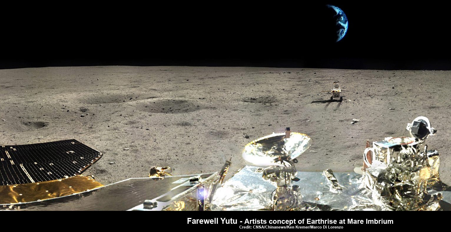 China's Jade Rabbit Moon Rover Has Been Lost