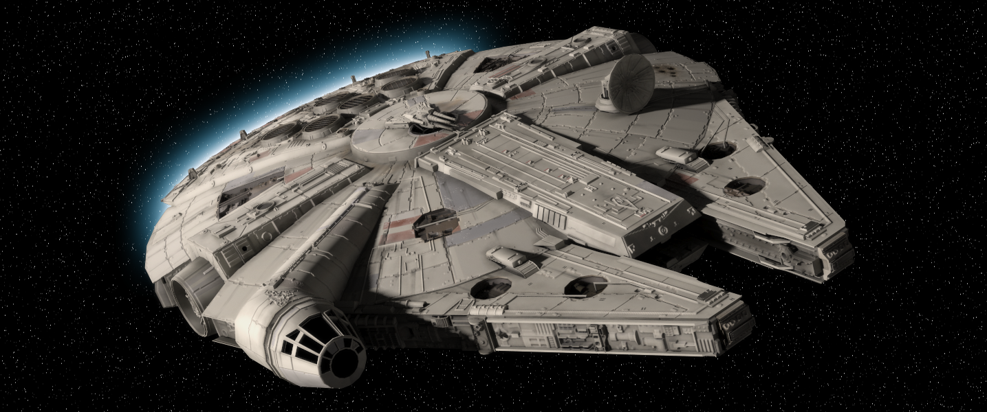 First Concept Art of the Millennium Falcon in Star Wars: Episode VII?