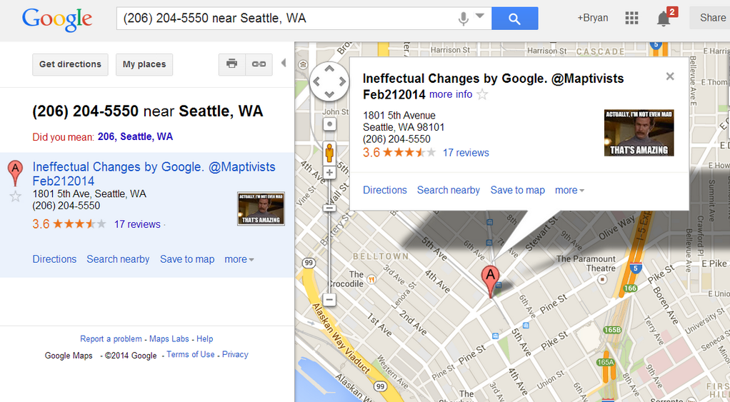 It's Ridiculously Easy to Troll Google Maps With Fake Listings