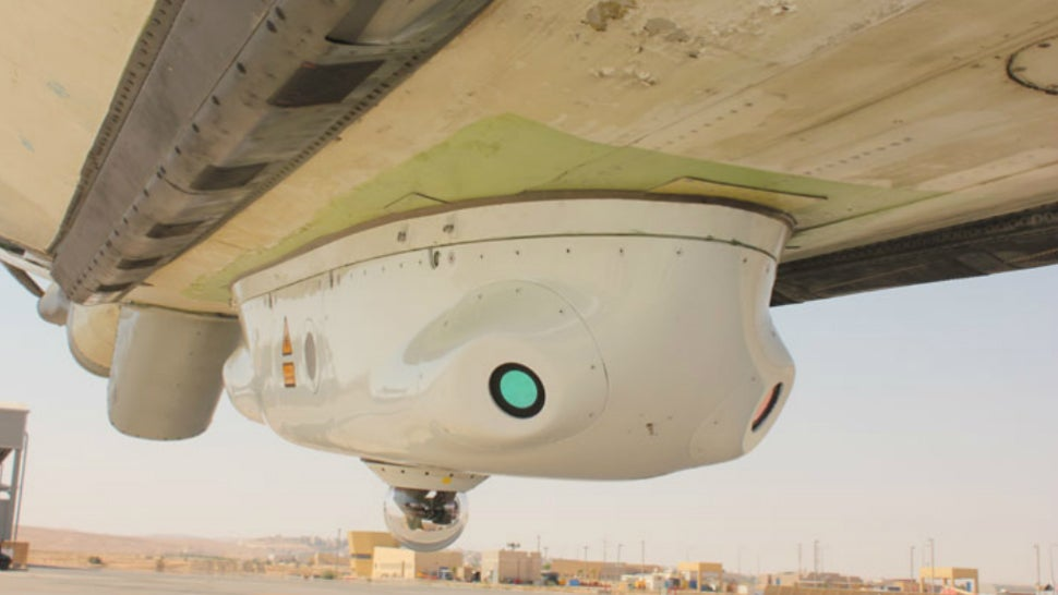 Israel Is Putting Frickin' Lasers on Its Commercial Airliners
