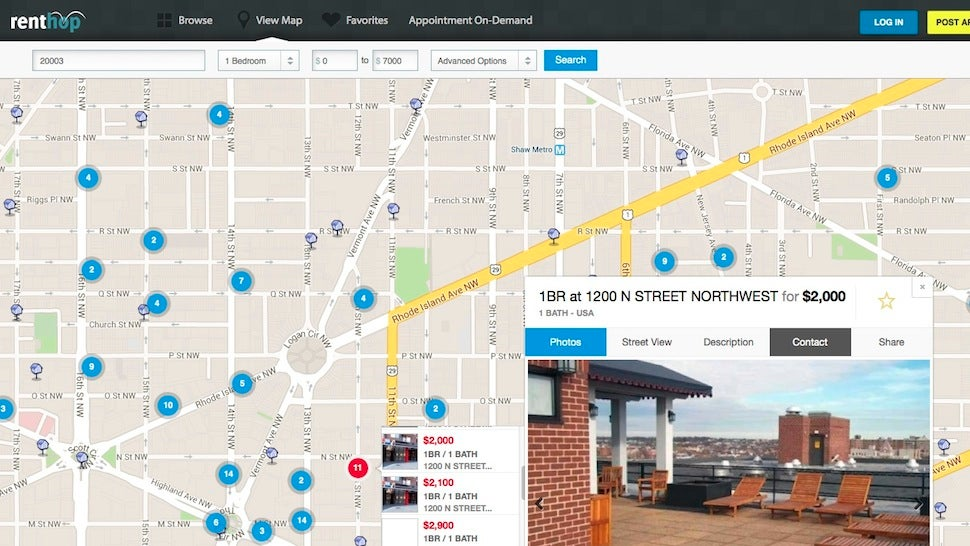 Renthop Scores Nearby Apartments for Rent, Helps You Find the Best