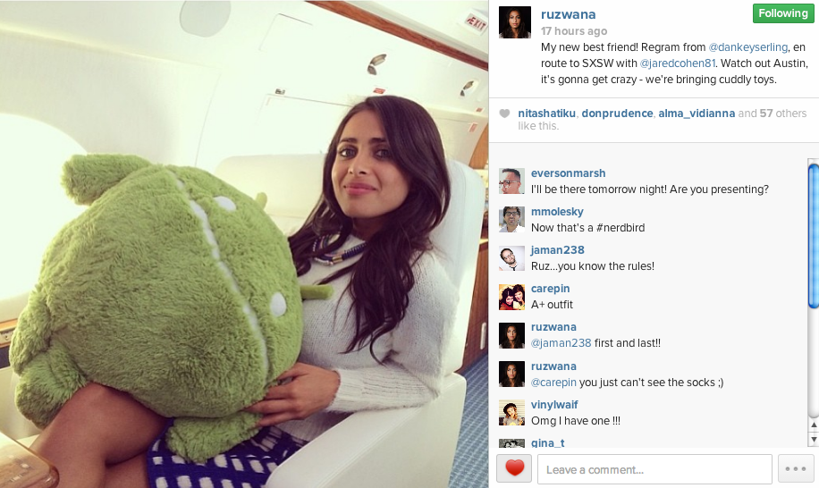 Google Execs Arrived At SXSW on Private Jet With Android Plushies