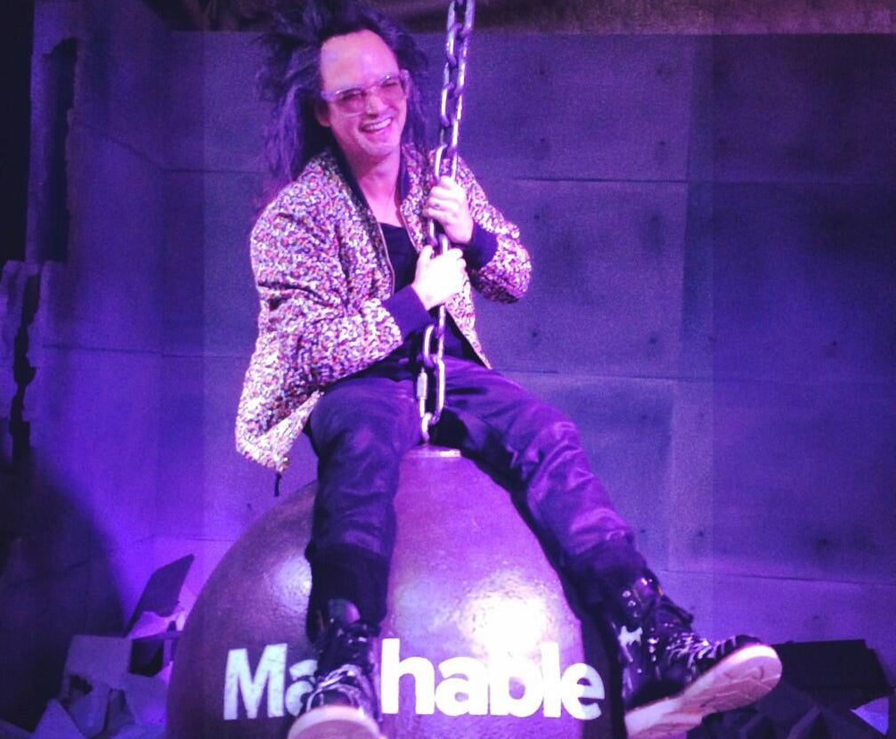 SXSW In One Photo: Shingy on a Wrecking Ball