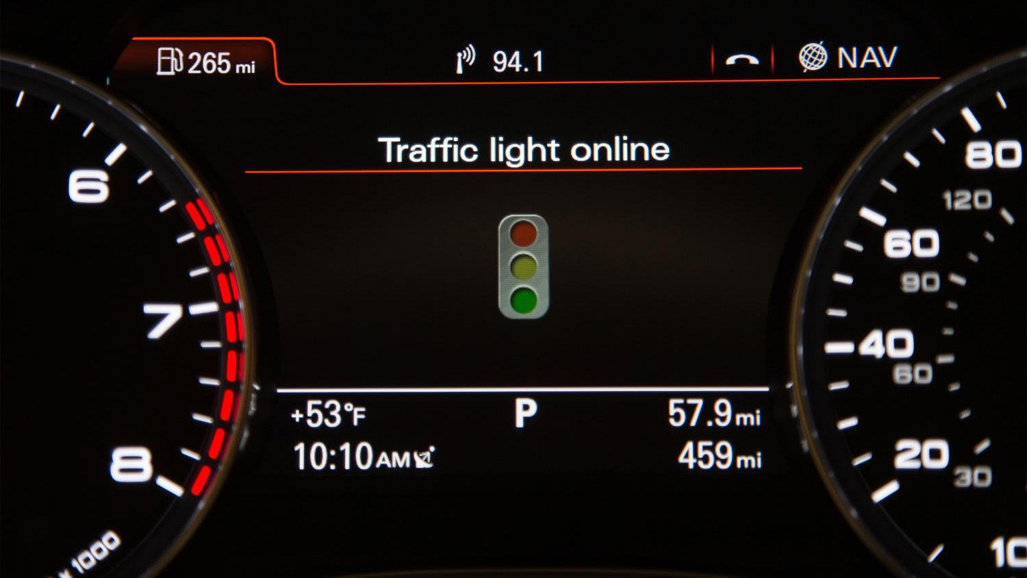 Audi's New Tech Can Turn Every Traffic Light In Front Of You Green