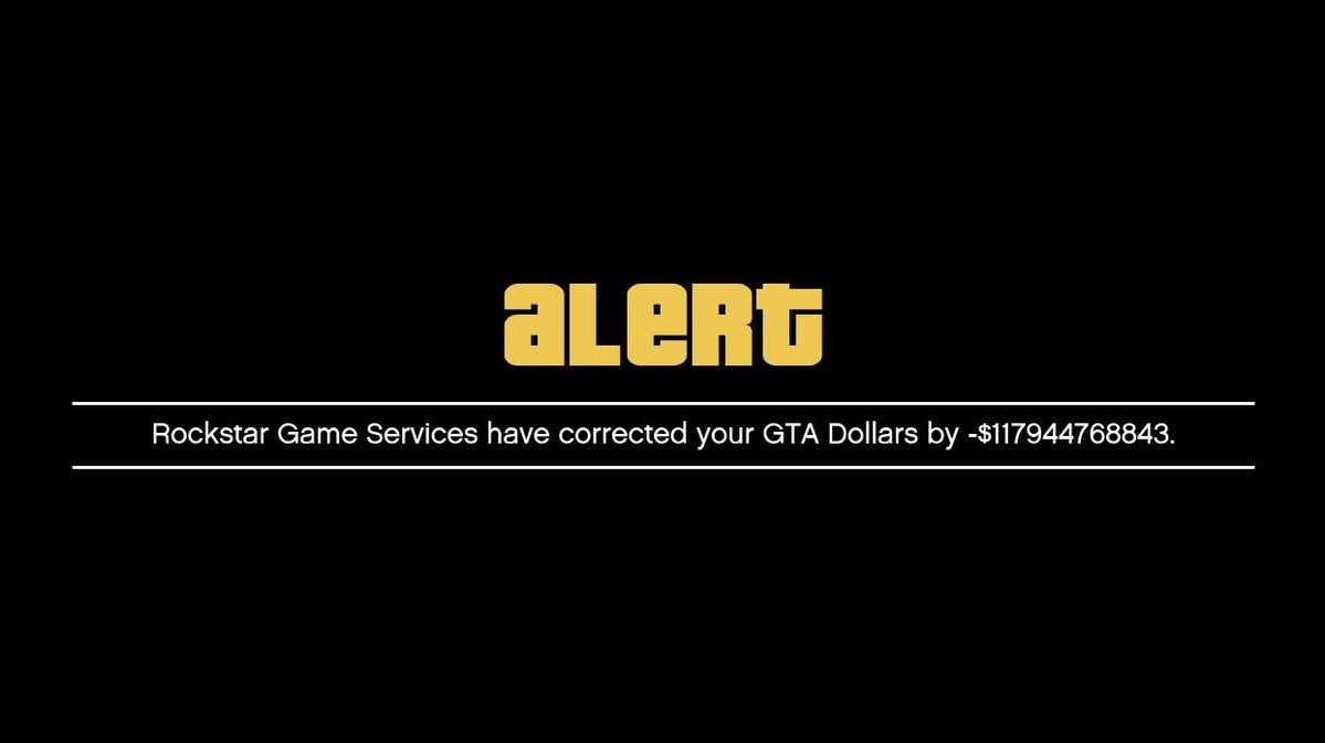 Rockstar Cracks Down On GTA Online Cheaters, Deletes Trillions Of 'GTA Dollars'