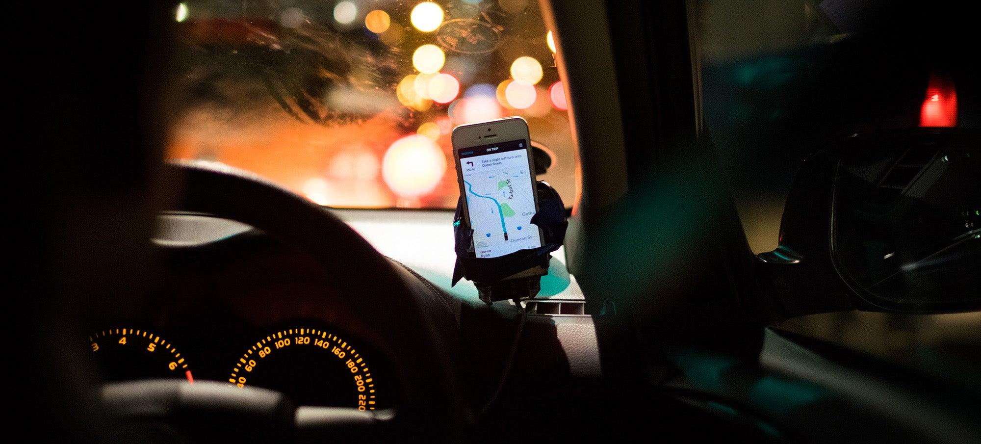 ride-hailing uber
