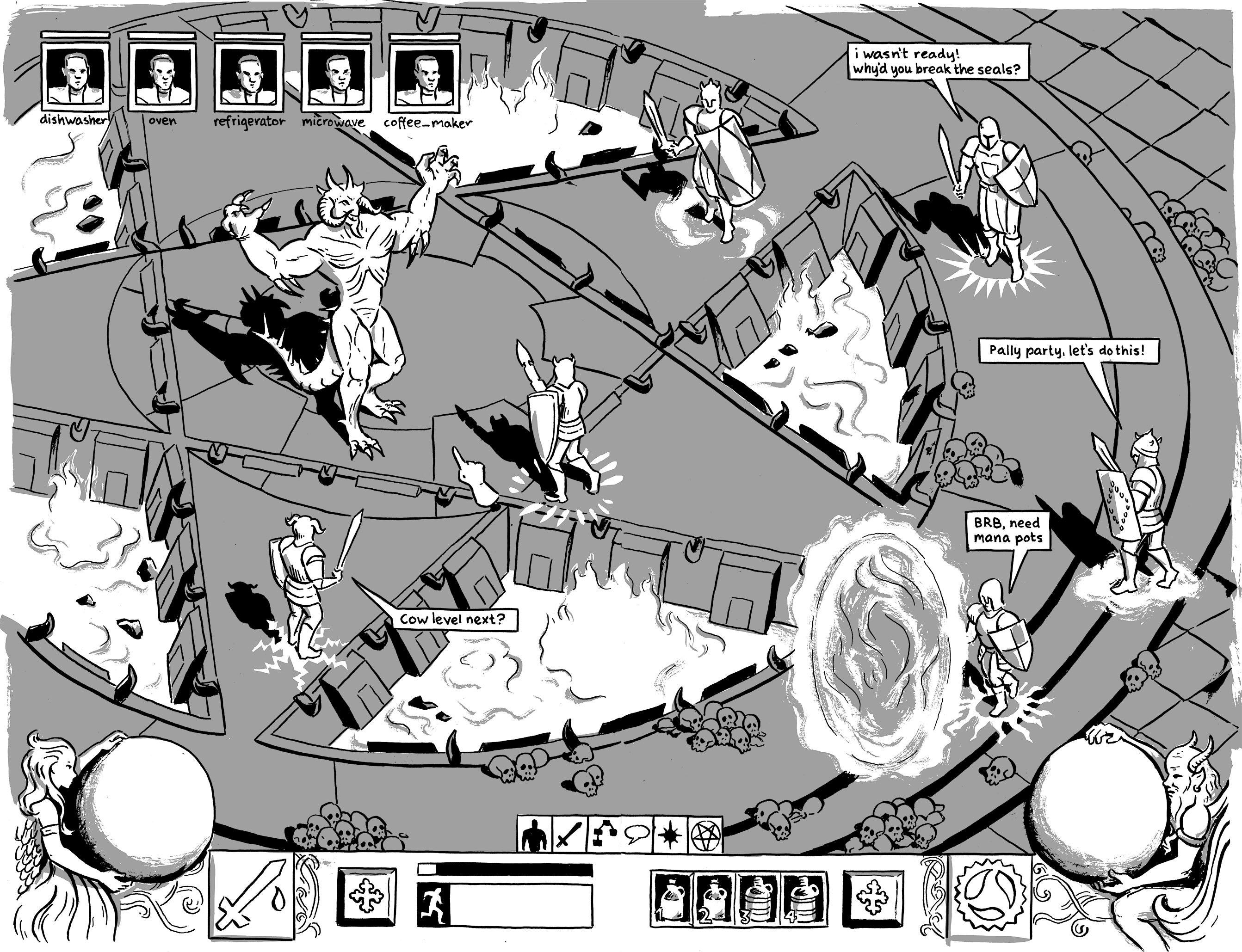 books chainmail-bikini comics elizabeth-simins games gaming hazel-newlevant io9 kinoko-evans mk-reed video-games