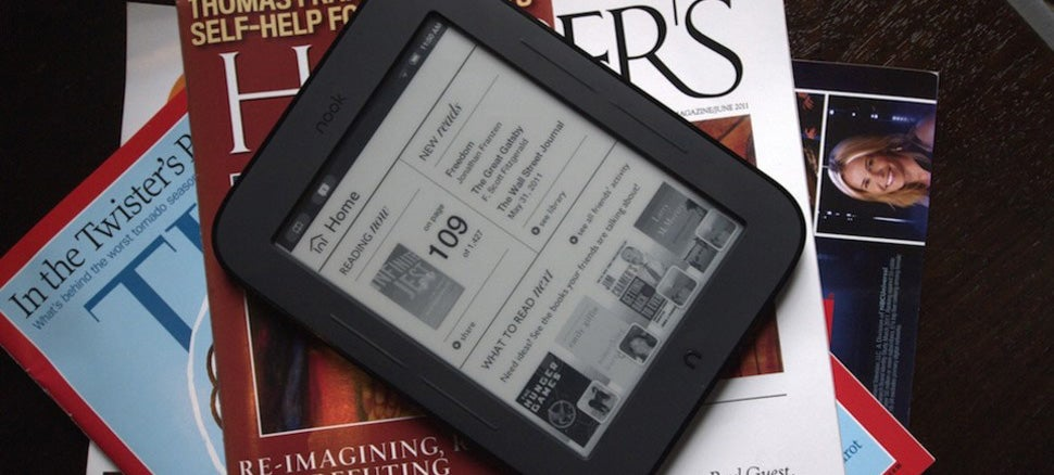 Microsoft and Barnes & Noble Scaling Back E-Reading Plans