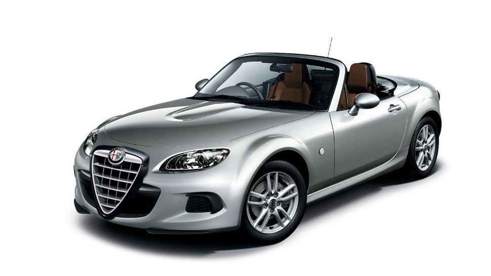 Fiat May Steal The Mazda Miata-Based Roadster From Alfa Romeo
