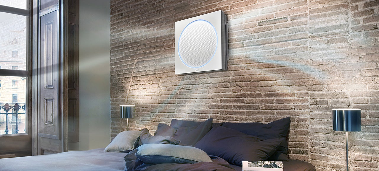 An Ultra-Flat Air Conditioner That Could Be Mistaken For Artwork