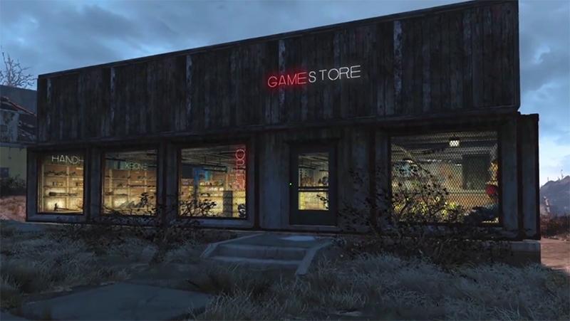 bethesda eb-games fallout-4 gamestop gamestore video
