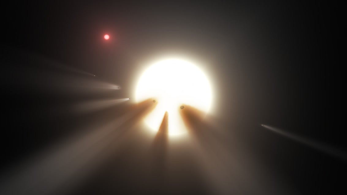 comet-swarms comets kic-8462852 life-on-other-planets megastructures space