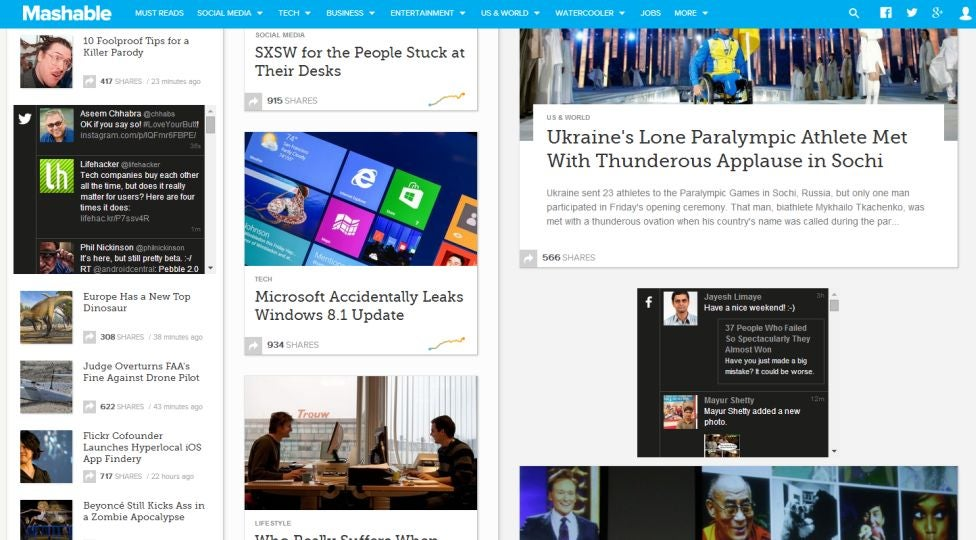 Post Forward Replaces Banner Ads With Social Media Feeds