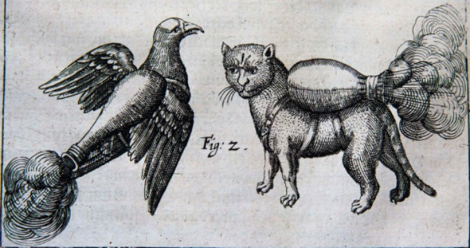 Amazing German Prince Wanted to Create 'Rocket Cats.'